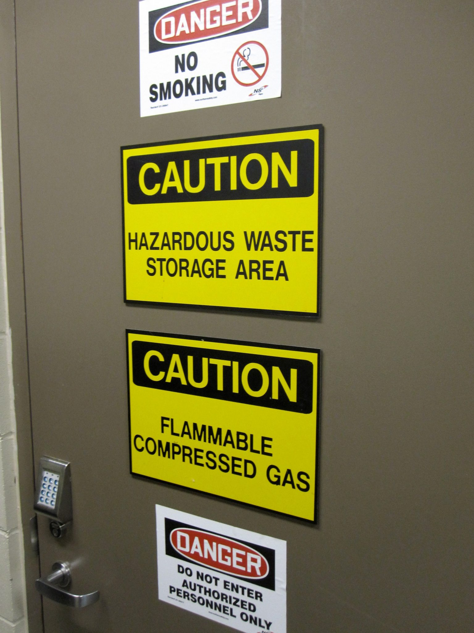 Hazmat Storage Labels | Maine Hazardous Waste Storage Requirements.